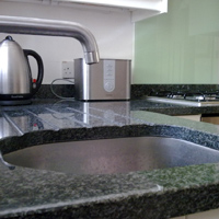Granite and glass